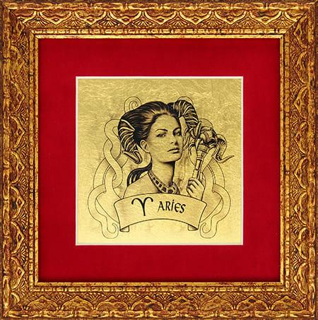сувенир змея со знаком зодиака